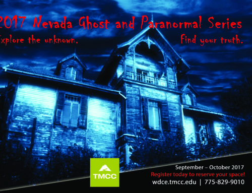 Discuss how religions perceive the paranormal during TMCC workshop in Reno